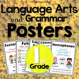 First Grade Common Core Language Anchor Charts / Posters
