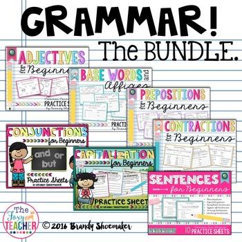 Grammar for Beginners Bundle