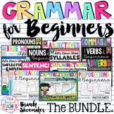 First Grade Grammar for Beginners Bundle