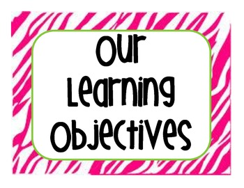 First Grade Common Core Learning Objective Standards