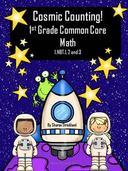 First Grade Common Core Math 1.NBT.1, 2, 3 Counting to 120, Comparison Symbols
