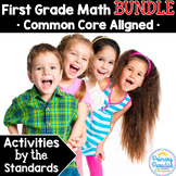 First Grade Math Skills BUNDLE: Activities by the Standard