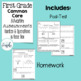 First Grade Numbers and Operations Common Core Math Assessment Freebie