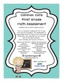 First Grade Common Core Math Assessment
