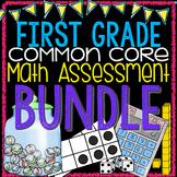 First Grade Common Core Math Assessment Bundle!
