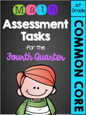 First Grade Common Core Math Assessment Tasks (Fourth Quarter)