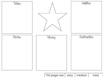 First Grade Common Core Math Assessment and/or Review