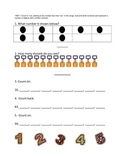 First Grade Common Core Math Assessments - Numbers and Ope
