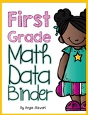 First Grade Common Core Math Assessments and Data Binder