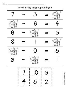 First Grade Common Core Math Bundle