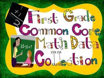 First Grade Common Core Math Data Collection Tool