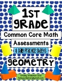 First Grade Common Core Math (G)-Assessments, Practice She
