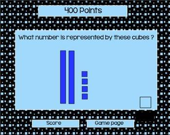 First Grade Common Core Math Jeopardy for the Smart Board