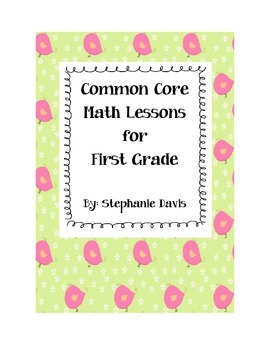 First Grade Common Core Math Lessons