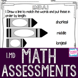 Math Assessments - First Grade Measurement | Distance Learning