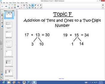 1st Grade Common Core Math Module 4 Topic F Lessons
