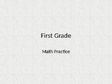 First Grade Common Core Math Practice