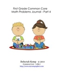 First Grade Math Word Problems Journal - Part 4 - Common C