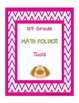 First Grade - Common Core Math Strategies Folder
