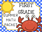 First Grade Common Core Math Summer Review Packet