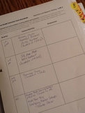 First Grade Common Core Planning Template and Organizer Package