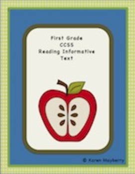 First Grade Common Core Planning Template and Organizer for Language Arts (Word)
