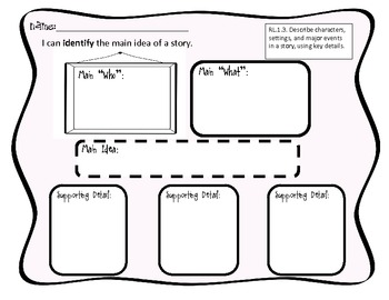 First Grade Common Core Reader Response Graphic Organizers For Any Book!!!