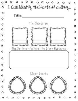 First Grade Common Core Reading Organizers