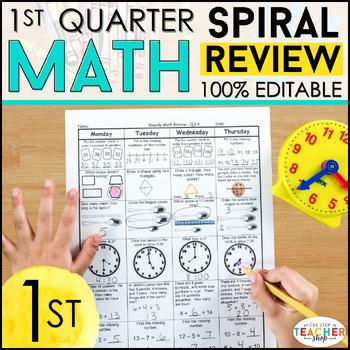 1st Grade Math Homework 1st Grade Morning Work for 1st Qua