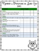 First Grade Common Core Standards Checklist-Owls!