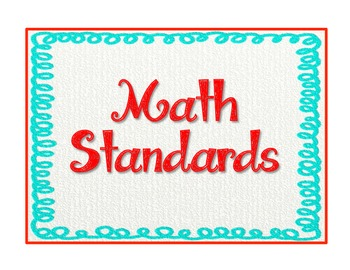 "1st Grade Common Core Standards - ELA & Math ""Teach & Assess"" Checklist"