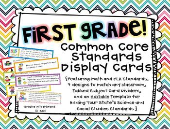 photo relating to First Grade Common Core Standards Printable known as Well known Main Benchmarks 1st Quality Interest Wall Worksheets