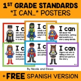 First Grade Common Core Standards I Can Posters