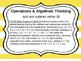 First Grade Common Core Math Standards for Wall
