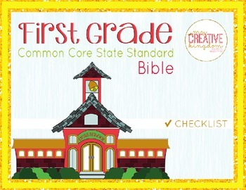 First Grade Common Core State Standard Guide -  ELA and Math Common Core Guide