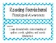 First Grade Common Core Student-Friendly ELA Standards - Blue Polka Dot