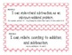 First Grade Common Core Student-Friendly Math Standards - Pink Polka Dot