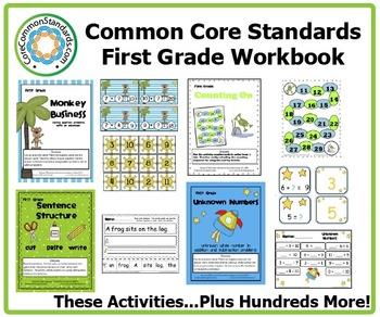First Grade Common Core Workbook