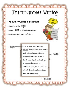 First Grade Common Core Writing Pack