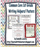 First Grade Common Core Writing Posters and Helpers