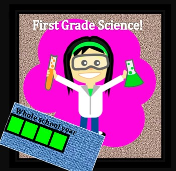 First Grade Common Core and Next Generation Science NGSS Lessons: Full Year