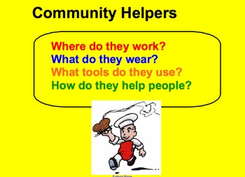 First Grade Community Worker