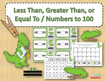 Comparing Numbers / Greater Than, Less Than,  Equals To