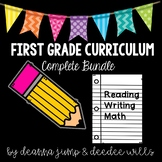 First Grade Complete Curriculum Bundle