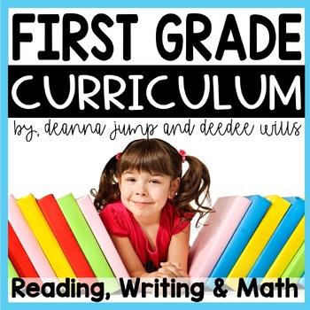 First Grade Complete Curriculum Bundle