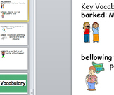 First Grade Core Knowledge Vocabulary Cards Posters Unit 9 Fairytales CCSS