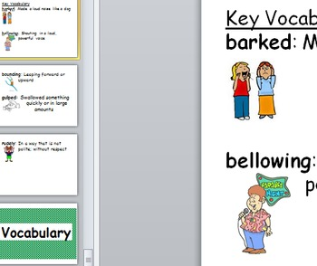 First Grade Core Knowledge Vocabulary Cards Posters Unit 9