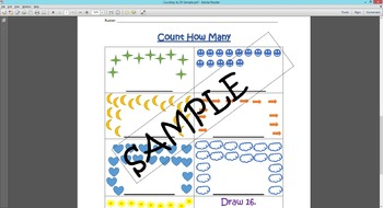 First Grade - Counting to 30 Review