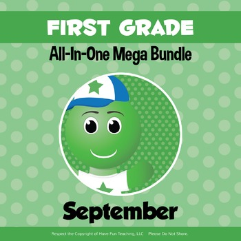 First Grade Curriculum Bundle (SEPTEMBER)