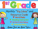 First Grade Curriculum Map - FREE
